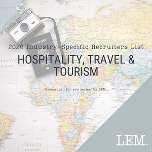 Hospitality, Travel & Tourism | 2020 NZ Industry-Specific Recruiters List | 16 Recruiters