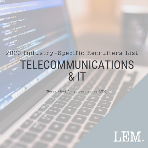 Telecommunications & IT | 2020 NZ Industry-Specific Recruiters List | 46 Recruiters