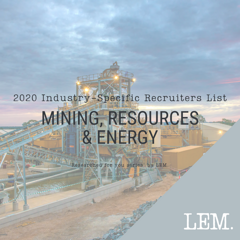 Mining, Resources & Energy | 2020 NZ Industry-Specific Recruiters List | 13 Recruiters