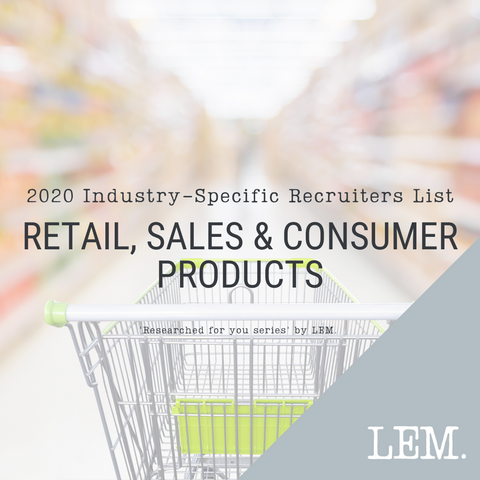 Retail, Sales & Consumer Products | 2020 NZ Industry-Specific Recruiters List | 28 Recruiters