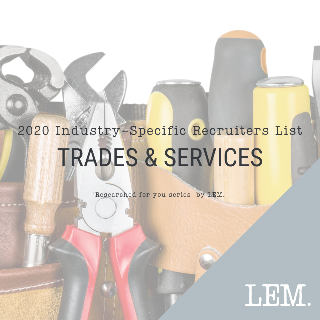 Trades & Services | 2020 NZ Industry-Specific Recruiters List | 42 Recruiters