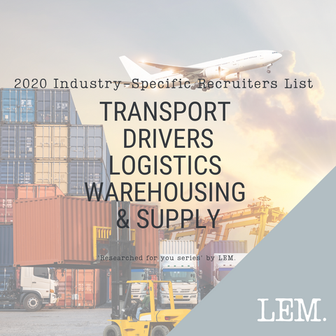 Transport  Drivers Logistics  Warehousing  & Supply | 2020 NZ Industry-Specific Recruiters List | 49 Recruiters