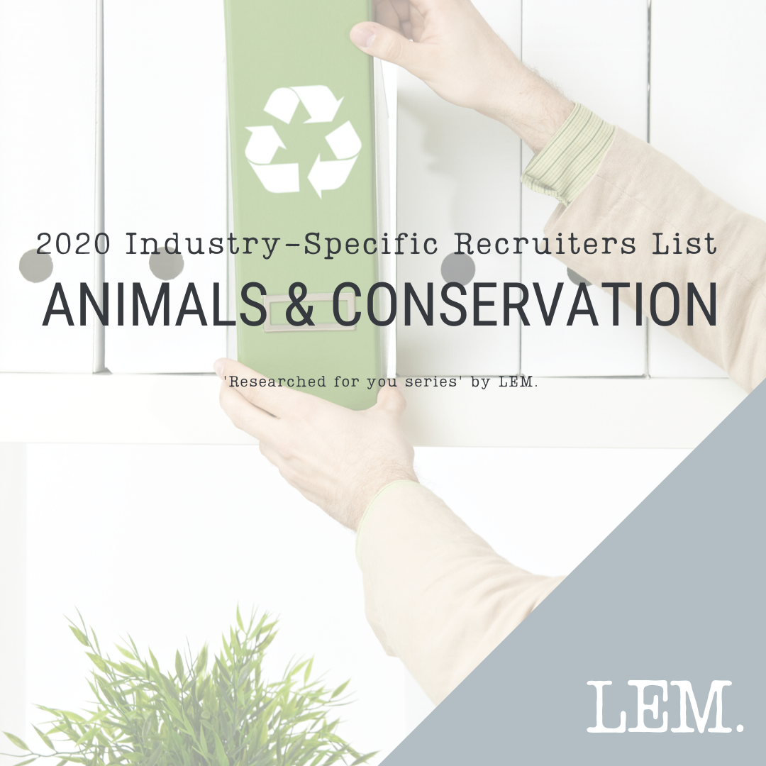 Animals & Conservation | 2020 NZ Industry-Specific Recruiters List | 4 Recruiters