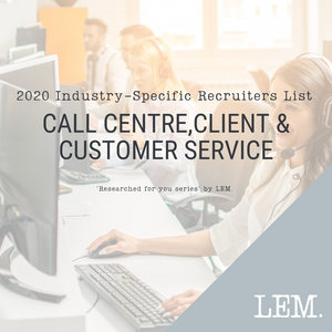 Call Centre,client & Customer Service | 2020 NZ Industry-Specific Recruiters List | 31 Recruiters