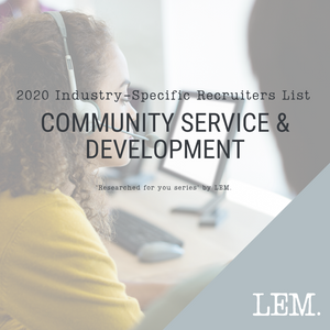 Community Service & Development | 2020 NZ Industry-Specific Recruiters List | 4 Recruiters