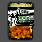 Butter chicken and rice, new flavours, great taste bodybuilding muscle meals