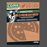Mild mexican beef ready-made frozen pizza, post workout meals