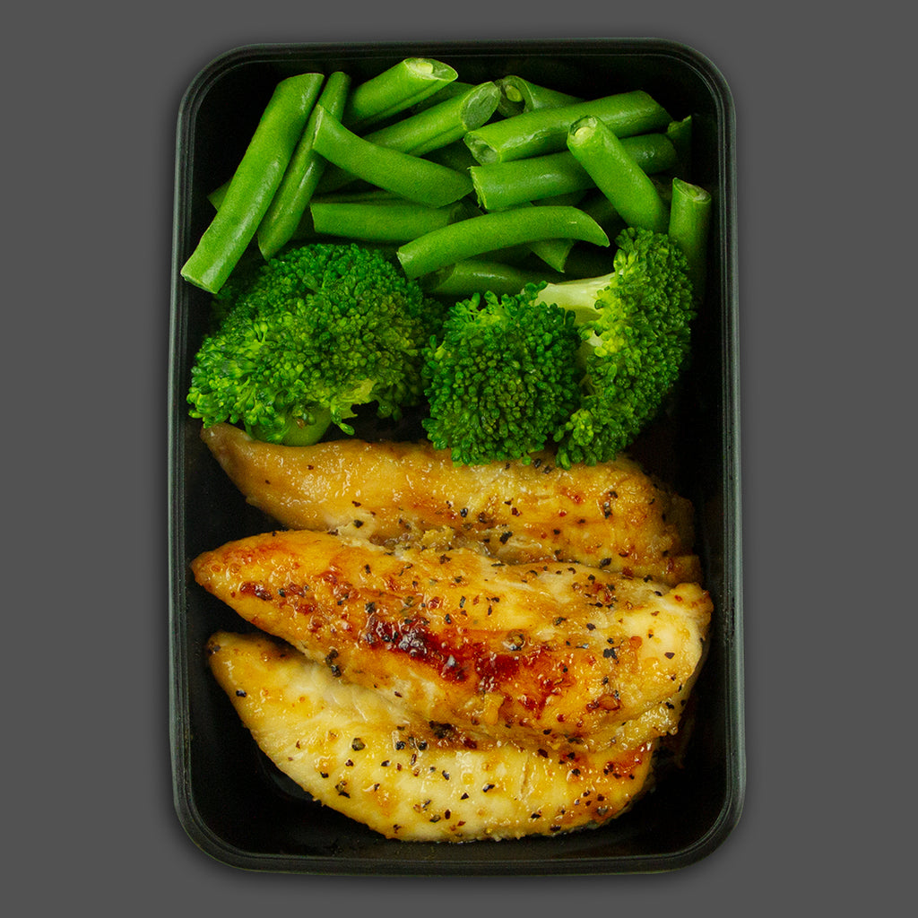 Seismic chicken high in protein performance meals delivered