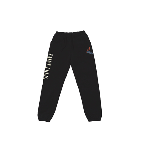 CARDINAL SWEATPANTS BLACK