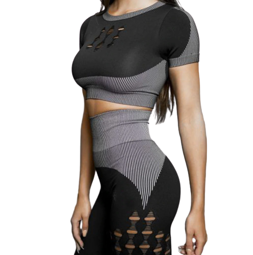 SYNERGY Black Activewear Set