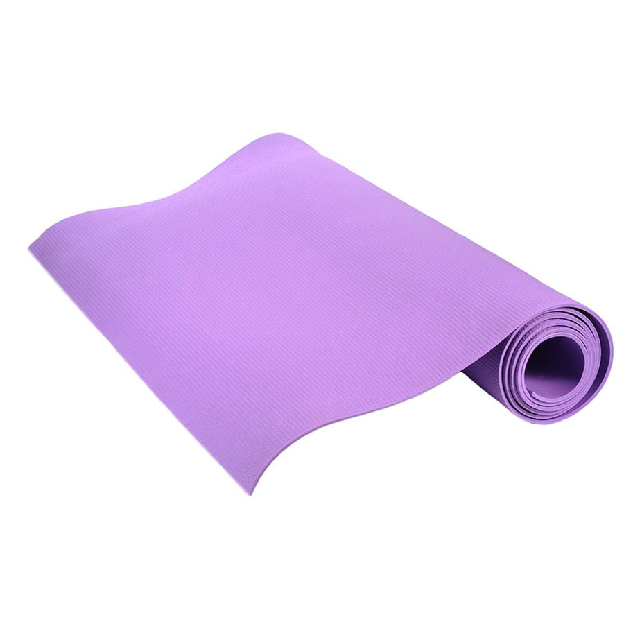 ENERGY Yoga Mat + Yellow / Purple