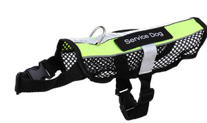 Breathable Mesh Lightweight  Dog Harness Including* SERVICE DOG | THERAPY DOG | IN TRAINING Patches