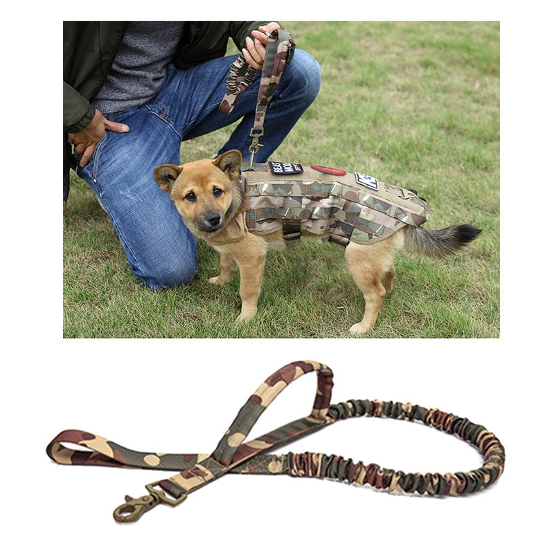 Strong Waterproof Tactical Dog Leash