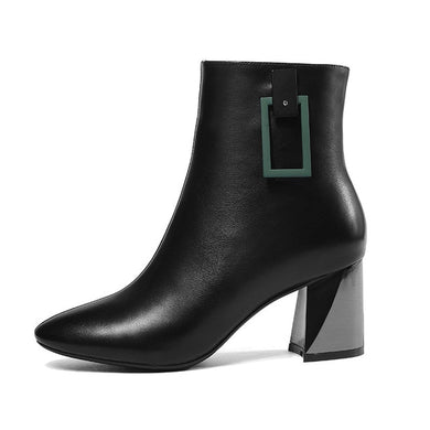 0017 Women Ankle Boots