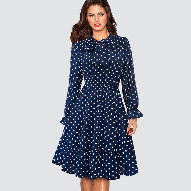 600 Polka Dot  Dress