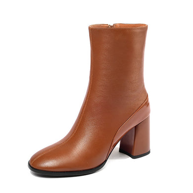 540 Women Ankle Boots Genuine Leather