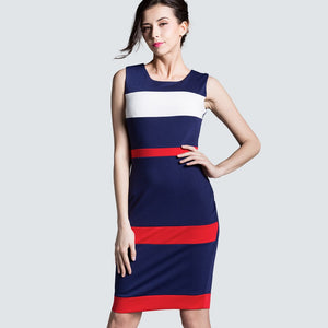 400 Dark Blue Dress Sleeveless