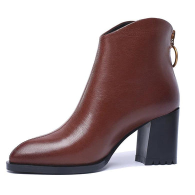 6501 Ankle Boots Genuine Leather