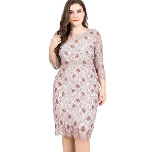 0012 Elegant Plus Size dress
