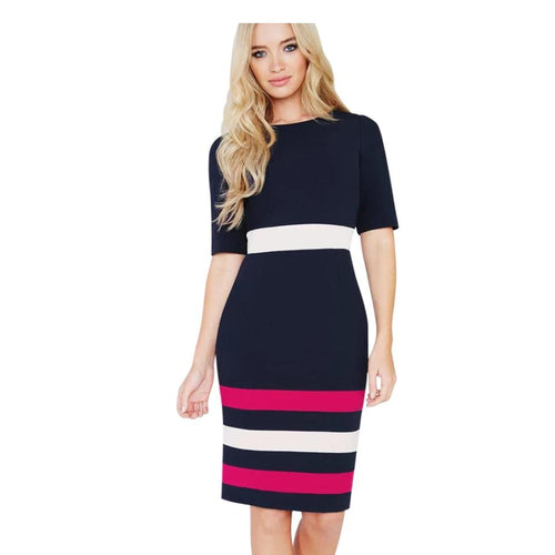 0081 Fitted Dress