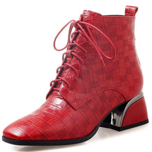 Load image into Gallery viewer, O22 Genuine Leather Ankle Boots