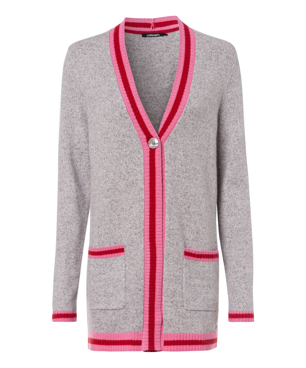 Collegiate Trim Cardigan