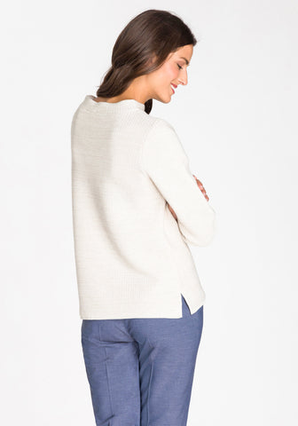 Classic Mock Neck Sweater