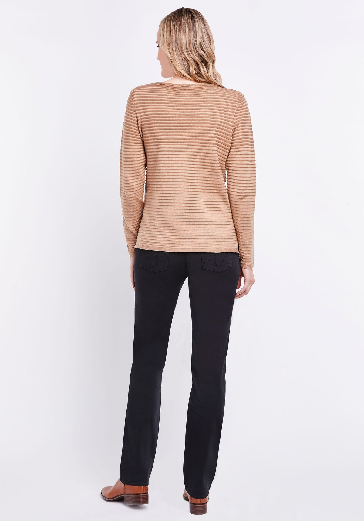 Gradient Stripe Sweater