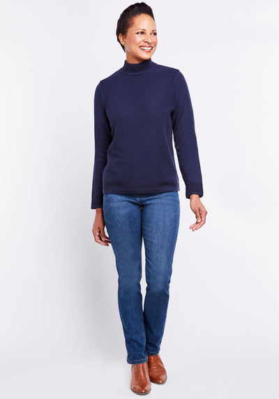 Mock Neck Sweater
