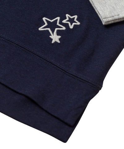 Border Trim Star Detail Pullover