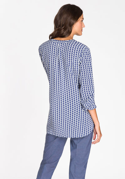 Daisy Dot Tunic Blouse
