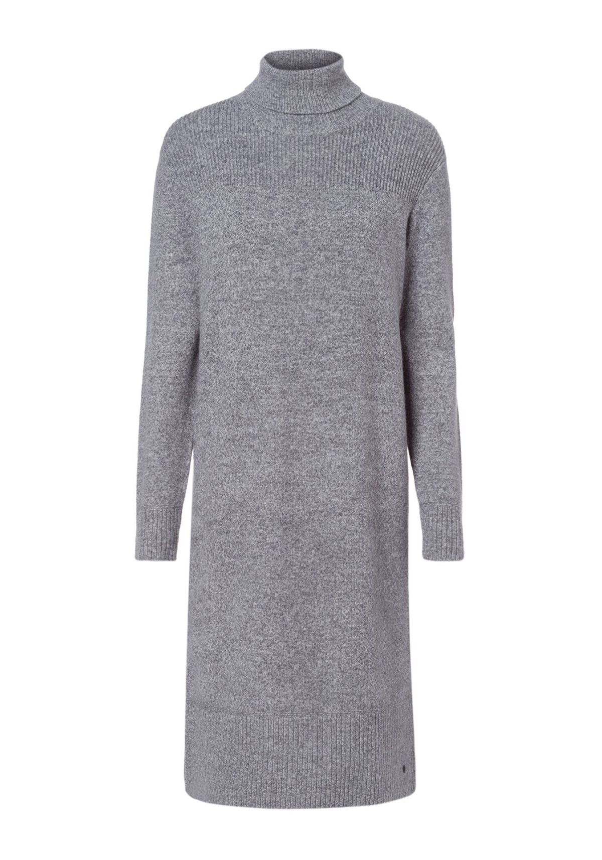 Long Sleeve Turtle Neck Sweater Dress