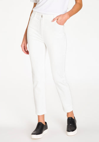 Mona Fit Cropped Jeans