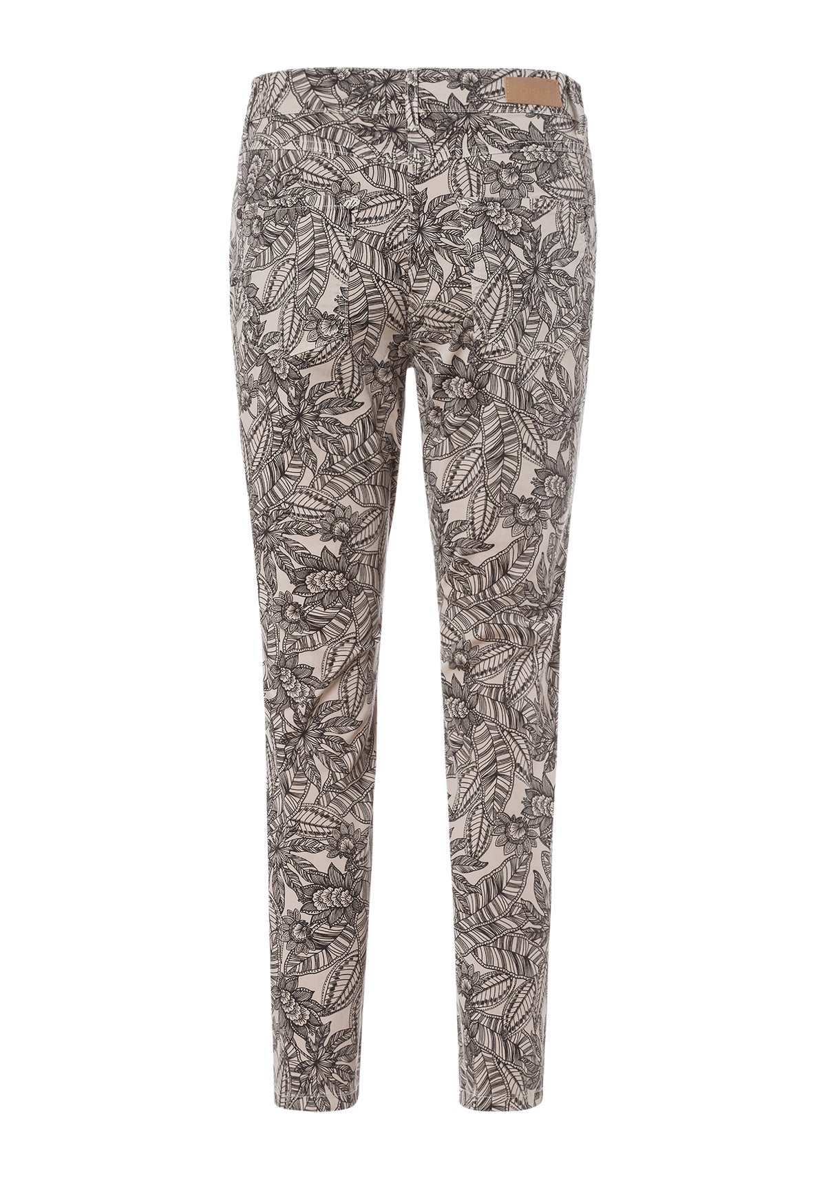 Mona Slim Fit Printed Cropped Pant