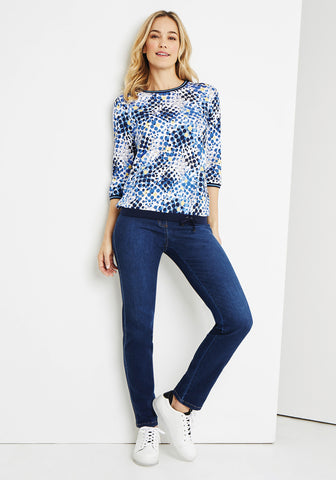 Mona Fit Slim Jeans