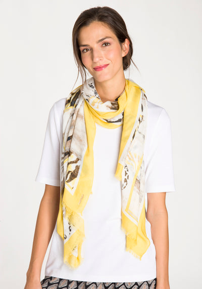 Safari Mix Print Scarf