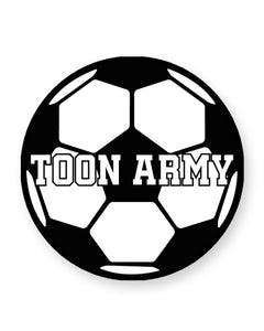 Toon Army Football Club Fan - Newcastle - Barware Home Kitchen Drinks Coasters