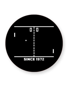 PONG Since 1972 Retro Arcade Game - Barware Home Kitchen Drinks Coasters