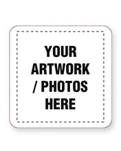 Load image into Gallery viewer, Custom Printed Full Colour Coasters - CIRCULAR or SQUARE