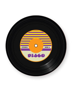 Vinyl Record Disco Music Genre - Barware Home Kitchen Drinks Coasters