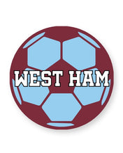 Load image into Gallery viewer, West Ham Football Club Fan - Barware Home Kitchen Drinks Coasters