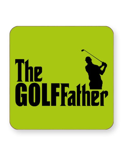 The Golffather - Barware Home Kitchen Drinks Coasters
