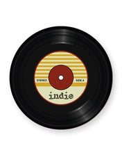 Load image into Gallery viewer, Vinyl Record Indie Music Genre - Barware Home Kitchen Drinks Coasters