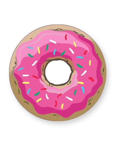 Cartoon Donut - Barware Home Kitchen Drinks Coasters