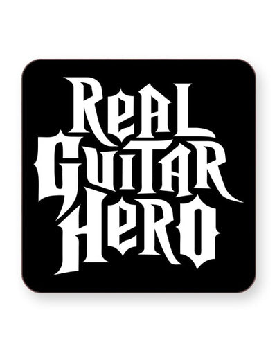 Real Guitar Hero - Guitarist Barware Home Kitchen Drinks Coasters