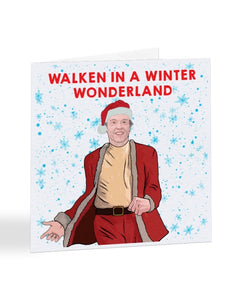 Walken in a Winter Wonderland - Christopher Walken - Celebrity Christmas Card