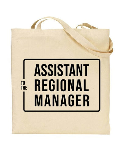 Assistant Regional Manager - The Office US Canvas Shopper Tote Bag
