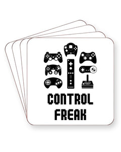 Control Freak - Video Game Controllers - Barware Home Kitchen Drinks Coasters