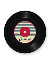 Load image into Gallery viewer, Vinyl Record Classical Music Genre - Barware Home Kitchen Drinks Coasters