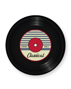 Vinyl Record Classical Music Genre - Barware Home Kitchen Drinks Coasters